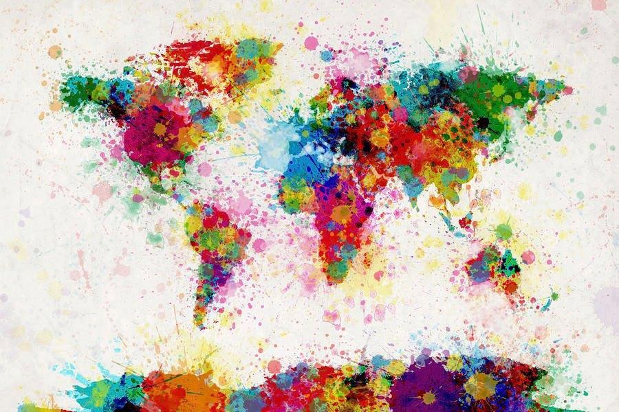el mundo de colores